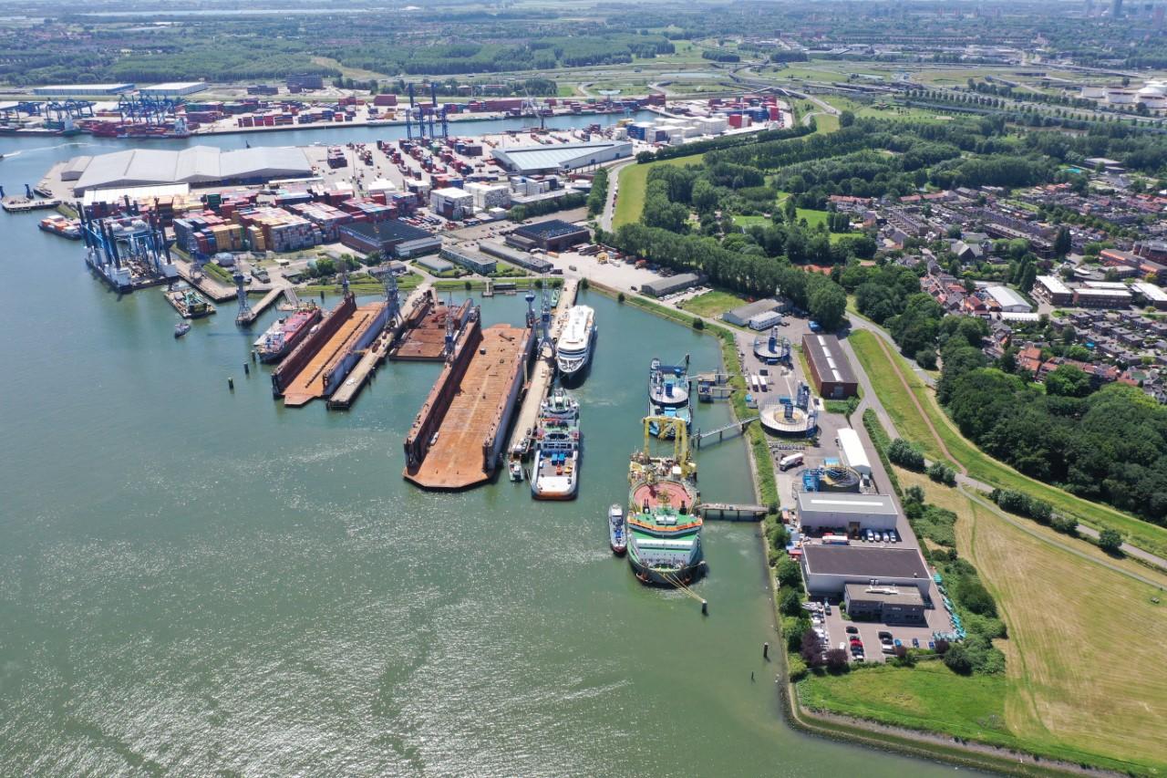Greenport Rotterdam haven – Clickable