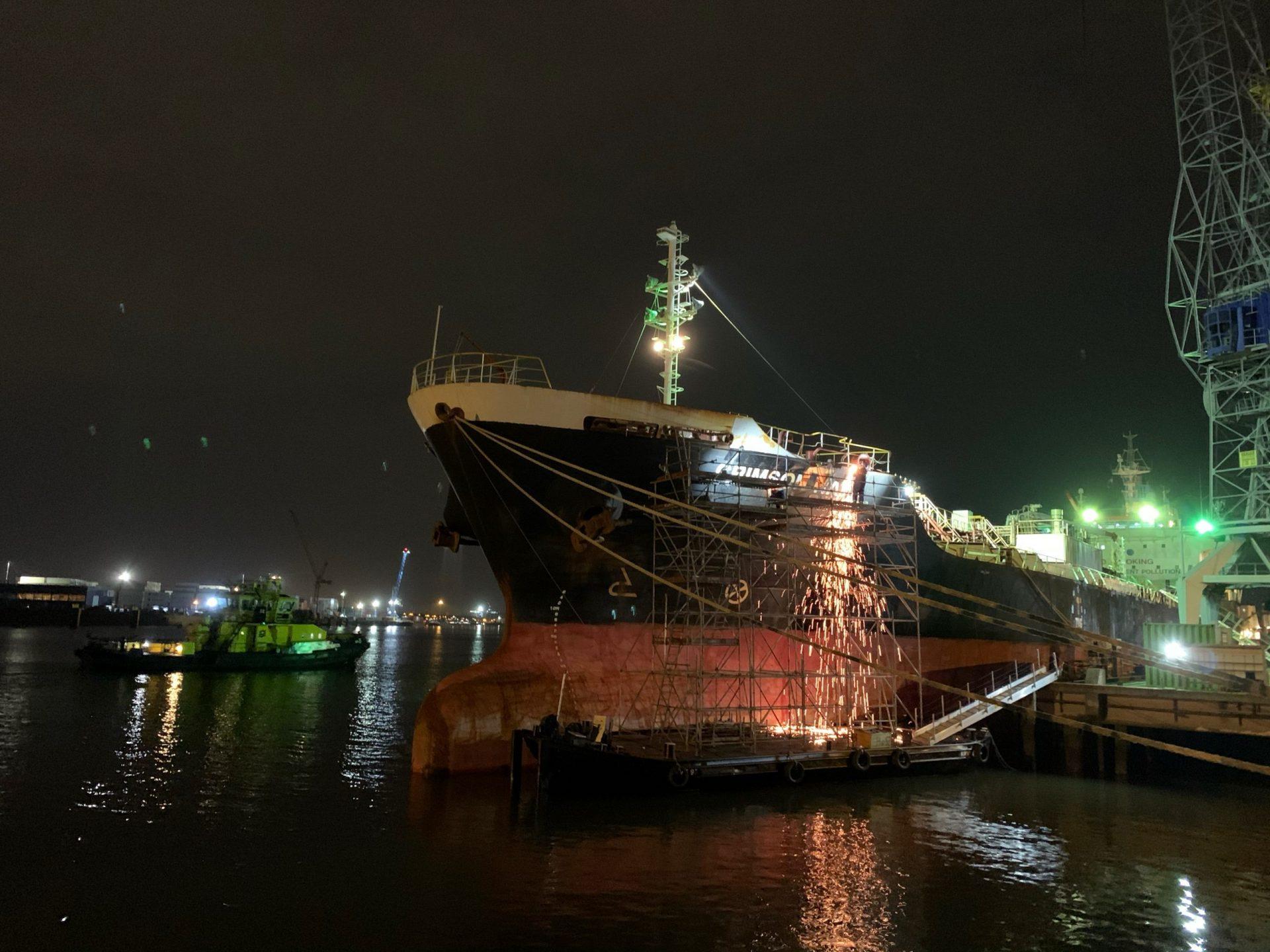 2. Ship repair